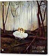 Ninas En El Bosque Acrylic Print
