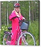 Nine Million Bicycles - Sweden. Acrylic Print