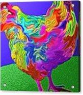 Nini's Hen Acrylic Print