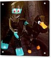 Ninja Gumby And Ninja Pokey Acrylic Print