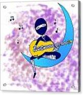 Ninja Acrylic Print