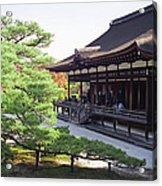 Ninna-ji Temple Garden - Kyoto Japan Acrylic Print