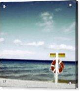 Lake Huron Michigan Waves Acrylic Print