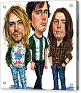 Nirvana Acrylic Print by Art