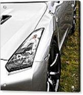 Nissan Gtr Acrylic Print by Phil 'motography' Clark