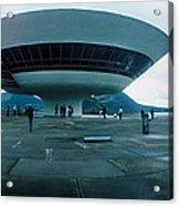 Niteroi Contemporary Art Museum Acrylic Print