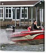 Nitro Boat Acrylic Print