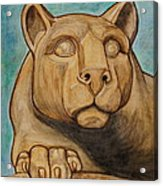 Nittany Lion Acrylic Print