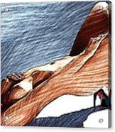 Niu Xvii.  2013  90/51 Cm.  Acrylic Print by Tautvydas Davainis