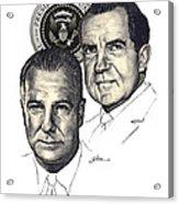 Nixon and Agnew Acrylic Print