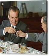 Nixon In China. President Richard Nixon Acrylic Print