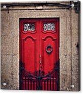 No. 24 - The Red Door Acrylic Print