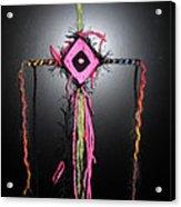 No. 6 Ojo De Dios Or God's Eye Acrylic Print