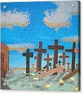 No Cross No Crown 1 Acrylic Print