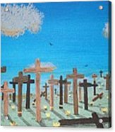 No Cross No Crown 2 Acrylic Print