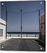 No Entry To The Sea Acrylic Print