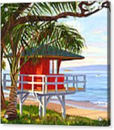 No Guard On Duty - Kamaole Beach Acrylic Print