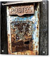 No Mail Today Acrylic Print by France  Art