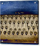 No More Love Letters Acrylic Print by Jan Amiss Photography