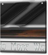 No More War Acrylic Print