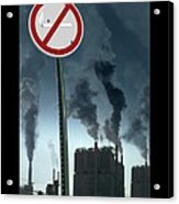 No Smoking Acrylic Print