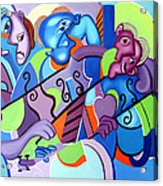 No Strings Attached Acrylic Print by Anthony Falbo