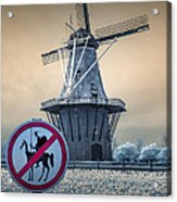 No Tilting At Windmills Acrylic Print