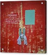 No Trespassing Acrylic Print