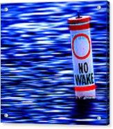 No Wake Acrylic Print