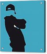 No025 My Beastie Boys Minimal Music Poster Acrylic Print