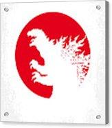No029-2 My Godzilla 1954 Minimal Movie Poster.jpg Acrylic Print