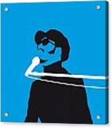 No039 My Stevie Wonder Minimal Music Poster Acrylic Print