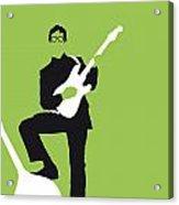 No056 My Buddy Holly Minimal Music Poster Acrylic Print