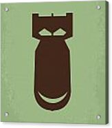 No212 My The Dictator Minimal Movie Poster Acrylic Print