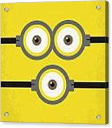 No213 My Despicable Me Minimal Movie Poster Acrylic Print