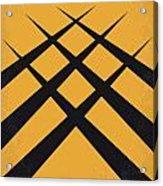 No222 My Wolverine Minimal Movie Poster Acrylic Print