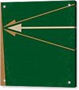 No237 My Robin Hood Minimal Movie Poster Acrylic Print