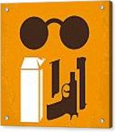 No239 My Leon Minimal Movie Poster Acrylic Print