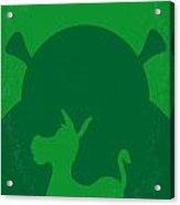 No280 My Shrek Minimal Movie Poster Acrylic Print