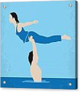 No298 My Dirty Dancing Minimal Movie Poster Acrylic Print
