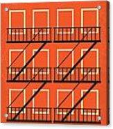 No387 My West Side Story Minimal Movie Poster Acrylic Print