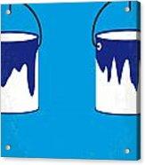 No427 My Home Alone Minimal Movie Poster Acrylic Print