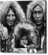 Noatak Indians Circa 1929 Acrylic Print