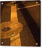 Nocturnal Street Shadows Acrylic Print