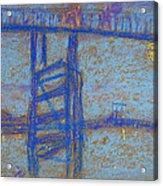 Nocturne. Battersea Bridge Acrylic Print