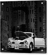 Noir City Acrylic Print