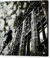 Noir Moment In Brugges Acrylic Print