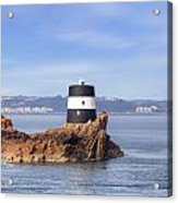 Noirmont Point Tower - Jersey Acrylic Print