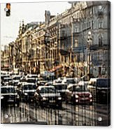 Noise In The City Acrylic Print