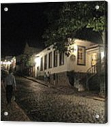 noite em Minas Gerais Acrylic Print by Maria Akemi  Otuyama
